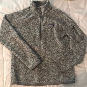 Patagonia fleece 1/4 zip